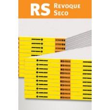 Placa Revoque Seco (Rs) 1,20 X 2,60 X 12,5mm. Durlock