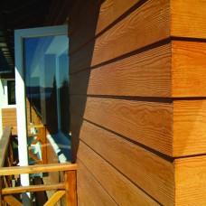 Placas de Cemento Autoclavadas Para Exteriores Siding Cedar 3,60m X 0,20m X 10mm. Eternit