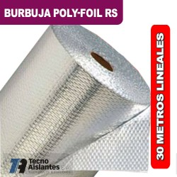BURBUJA POLY-FOIL RS 1 x 30ml 1 CARA DE ALUMINIO