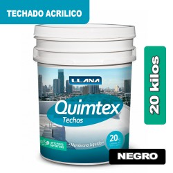 TECHADO ACRILICO NEGRO x 20 KG.