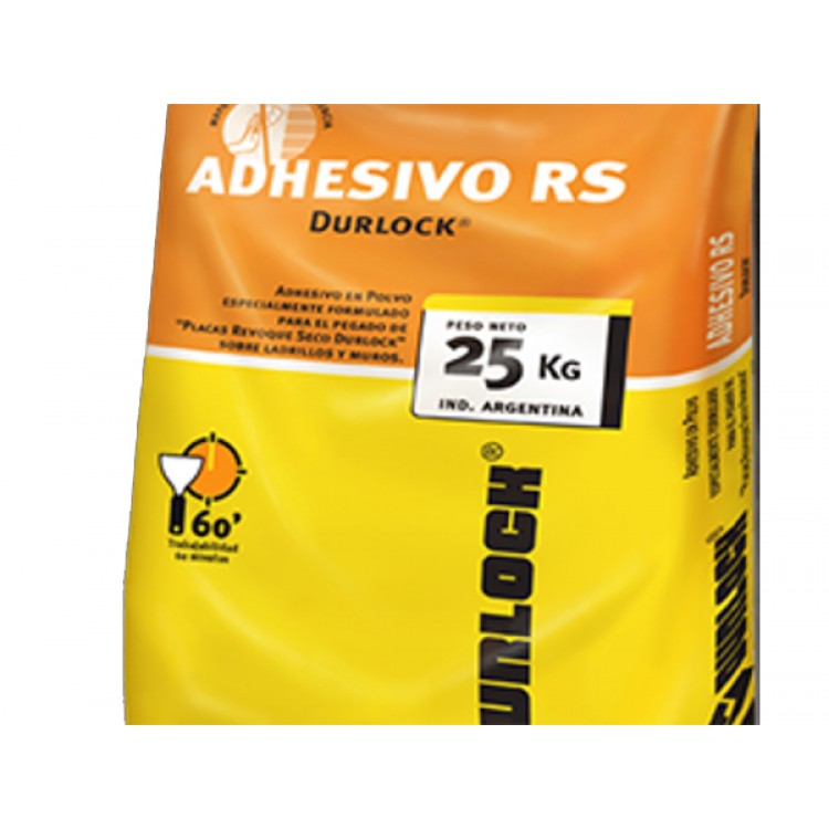 ADHESIVO RS REVOQUE SECO X 25 KG 60 MIN.