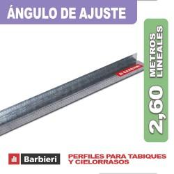 ANGULO DE AJUSTE X 2,60 ML.