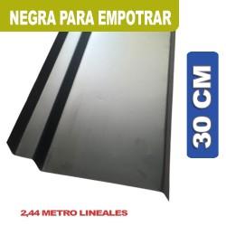 BABETA NEGRA PARA EMPROTRAR X 2.44ML 30 CM