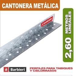 CANTONERA METÁLICA 31 X 2,60 ML.