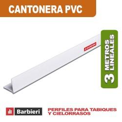 CANTONERA PVC 33MM LISA X 3 MTS