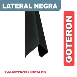 CENEFA LATERAL CON GOTERON NEGRA X 2.44ML