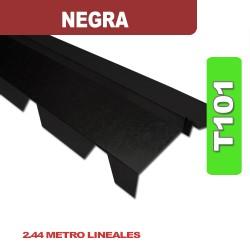 CUMBRERA CON FORMA T101 NEGRA X 2.44 ML