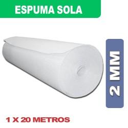 ESPUMA SOLA 2MM 1 X 20Mts