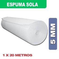ESPUMA SOLA 5MM 1 X 20Mts