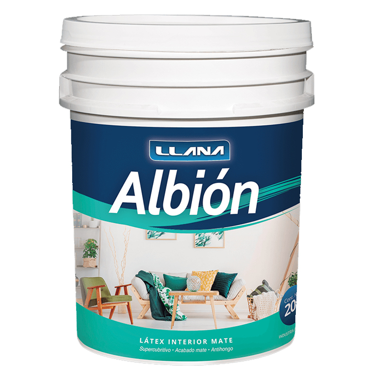 LATEX ALBION BLANCO MATE x 20 LT
