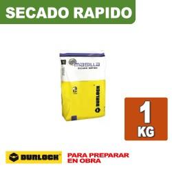 MASILLA SECADO RAPIDO x 1 KG. DURLOCK