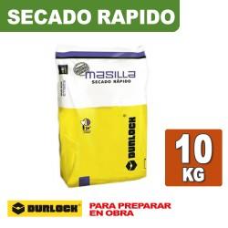 MASILLA SECADO RAPIDO x 10 KG. DURLOCK