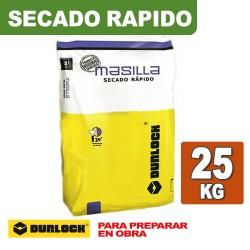 MASILLA SECADO RAPIDO x 25 KG. DURLOCK