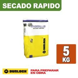 MASILLA SECADO RAPIDO x 5 KG. DURLOCK