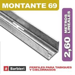 MONTANTE 69 x 35 x 2,60 ML.