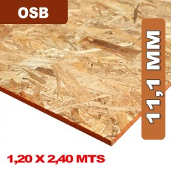 PLACA OSB DE 11,1 MM 1.22x2.44 MTS
