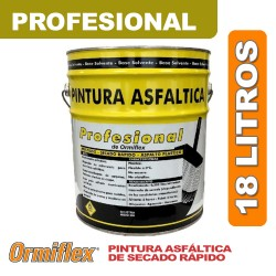PINTURA ASFALTICA PROFESIONAL x 18 LT