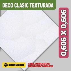 PLACA DECO CLASSIC 0,606 X 0,606 TEXTURADA
