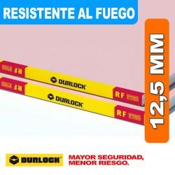 PLACA RESISTENTE AL FUEGO 12,5 MM RF 1,20 X 2,40