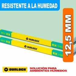 PLACA RESISTENTE A LA HUMEDAD 12,5 MM RH 1,20 X 2,40