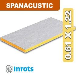 PLACA SPANACUSTIC 25MM 0,61 X 1,22Mts INROTS