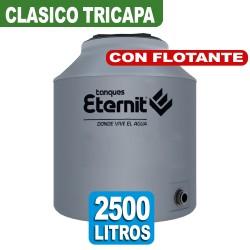 TANQUE CLASICO TRICAPA x 2500 LTS CON FLOTANTE