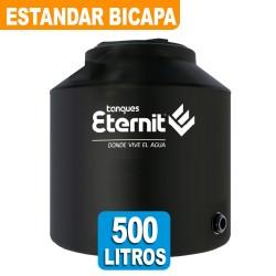 TANQUE ESTANDAR BICAPA NEGRO x 500 LTS