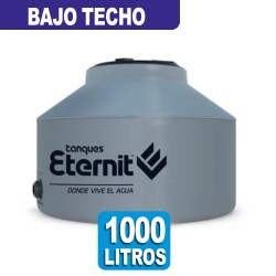TANQUE TRICAPA GRIS BAJO TECHO x 1000 LT