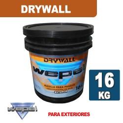 MASILLA WEPEL PARA EXTERIOR X 16 KG.